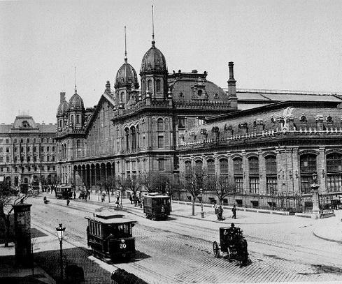 Budapest a XIX. század végén. - Budapest (capital of Hungary) the XIX. on a century's end.
